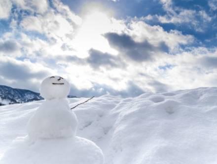 ハウジングミニ雪まつり(雪あそび・宝さがし)