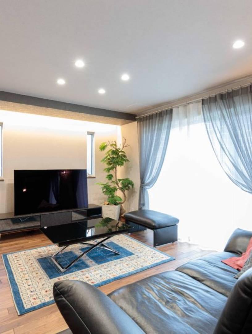 モデルルームのような高級感溢れる二世帯住宅