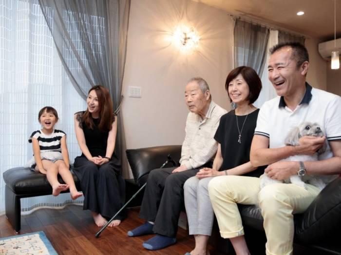 断熱性能が良く、家族全員が快適に過ごせています。