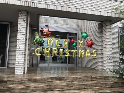 展示場もクリスマス仕様になりました
