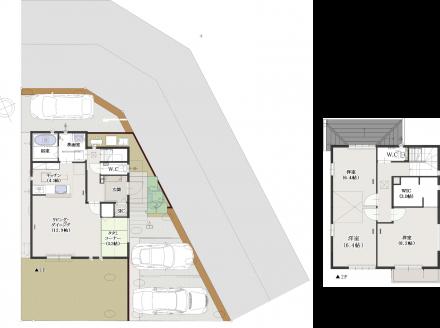 武豊町楠の大型分譲地に新しい建売住宅建設中です!